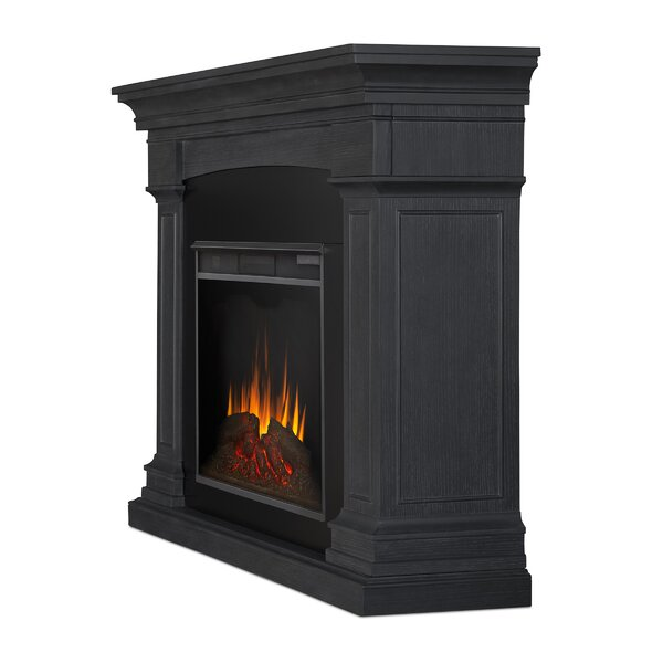 Deland Grand Electric Fireplace By Real Flame