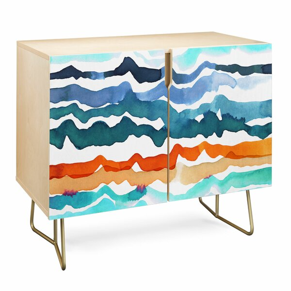 Cayena Beach Waves Accent Cabinet by East Urban Home