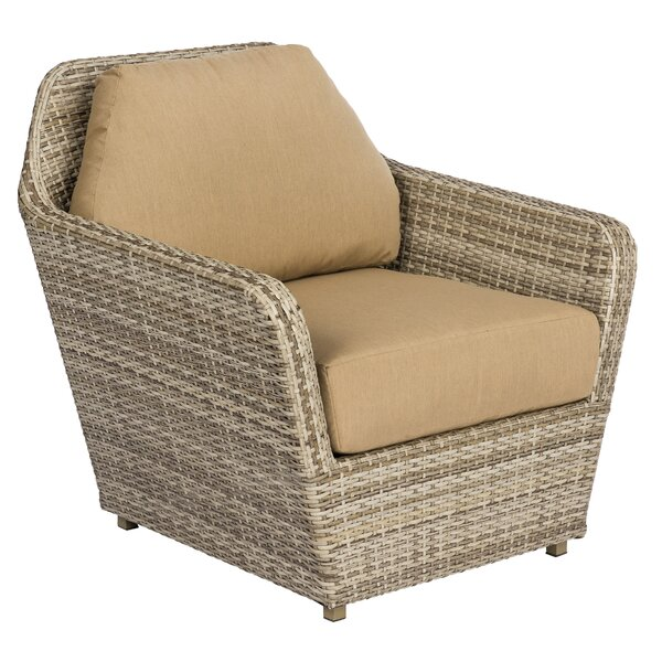 Pueblo Patio Chair with Cushions by Woodard