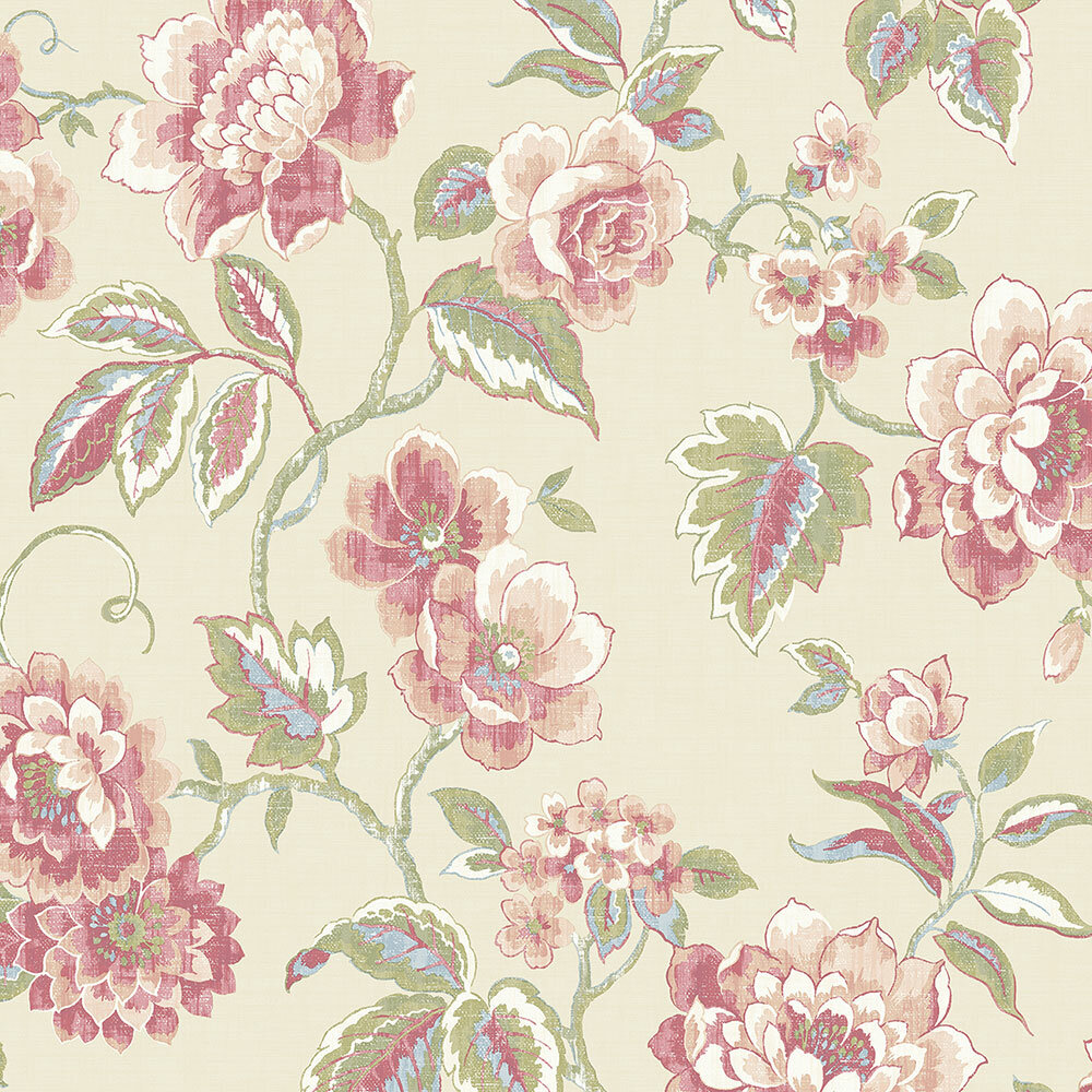 Abmc Bloomfield 32 7 X 20 5 Floral Roll Wallpaper Wayfair