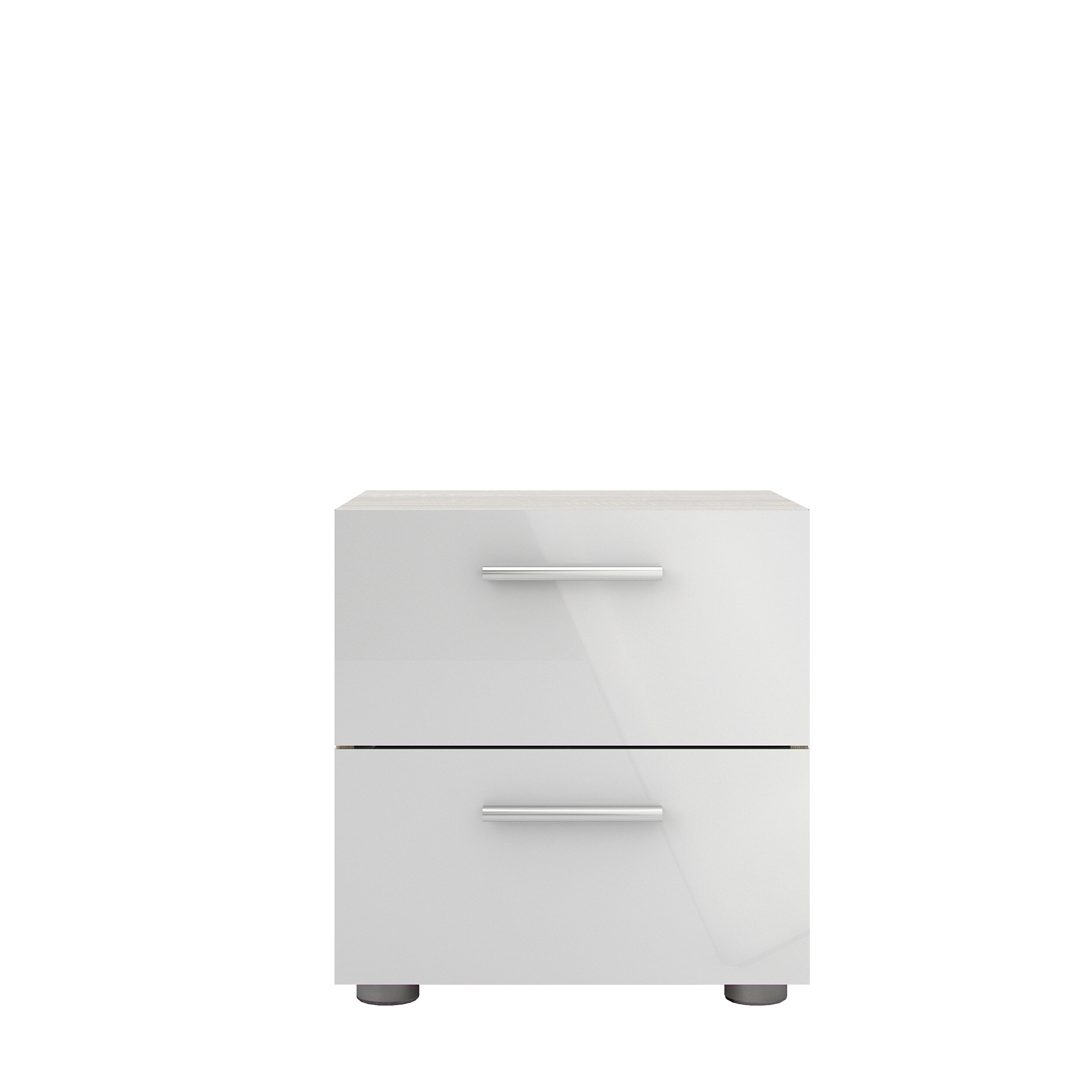 Pannell 2 Drawer Nightstand