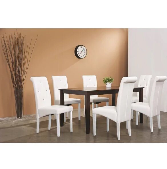 5 Piece Solid Wood Dining Set by Latitude Run