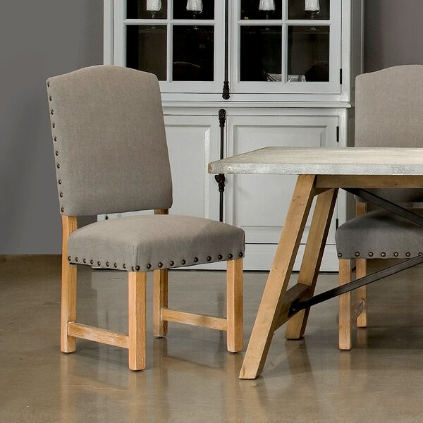 Ruge Upholstered Dining Chair (Set of 2) by Sarreid Ltd