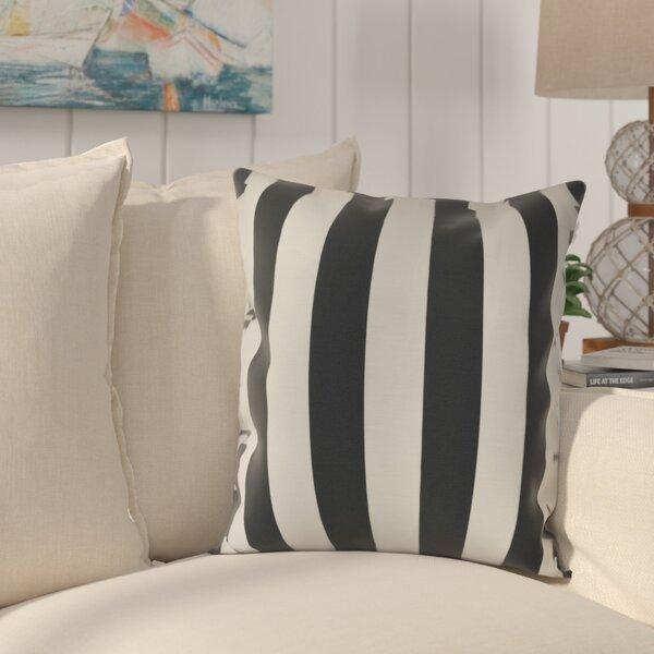 Westfield Stripe Throw Pillow by Beachcrest Home