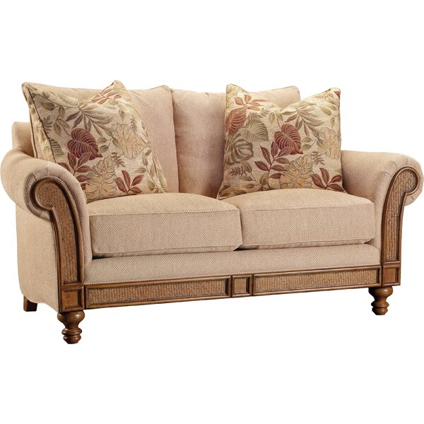 Windward Upholstered Loveseat by Hooker Furniture