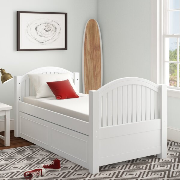 Burroughs Twin Platform Bed with Trundle by Kitsco