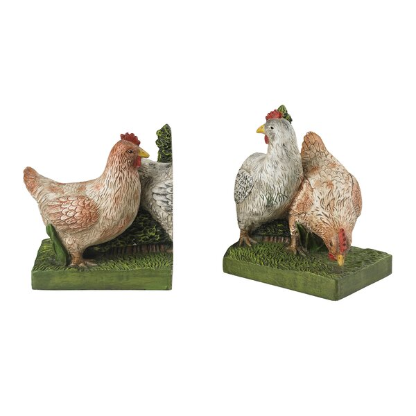 Bookends (Set of 2) by August Grove