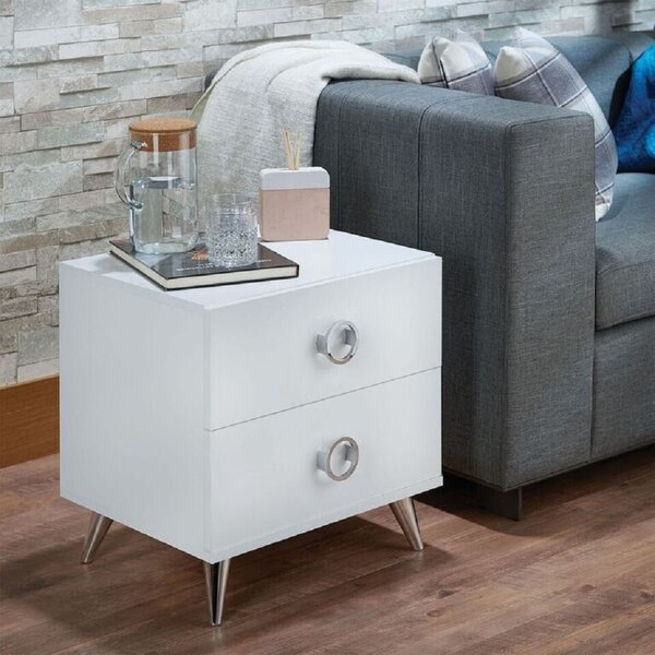 Saroyan 2 Drawer Nightstand by Mercer41