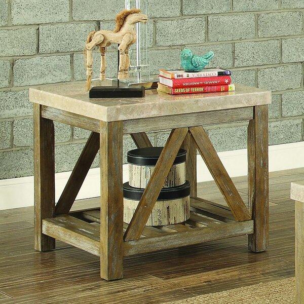 Bellas End Table by Gracie Oaks