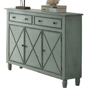 Coastal 3 Door Accent Cabinet