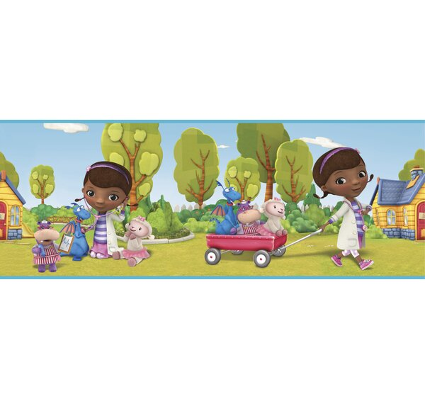 Walt Disney Kids II 9 Doc Mcstuffins Border Wallpaper by York Wallcoverings