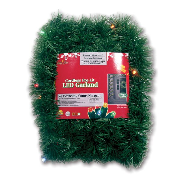 Micro Mini Pine Garland by Brite Star