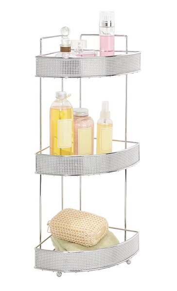 Bath Bliss 8.66 W x 23.82 H Bathroom Shelf by Kennedy International