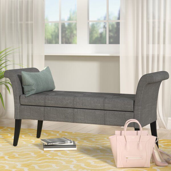 Kamila Upholstered Storage Bench by Willa Arlo Int
