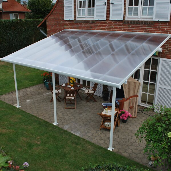 Feria™ 28 ft. W x 13 ft. D Patio Awning by Palram