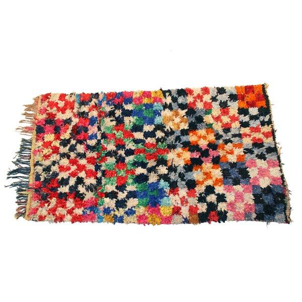 Boucherouite Azilal Hand-Woven Area Rug by Casablanca Market