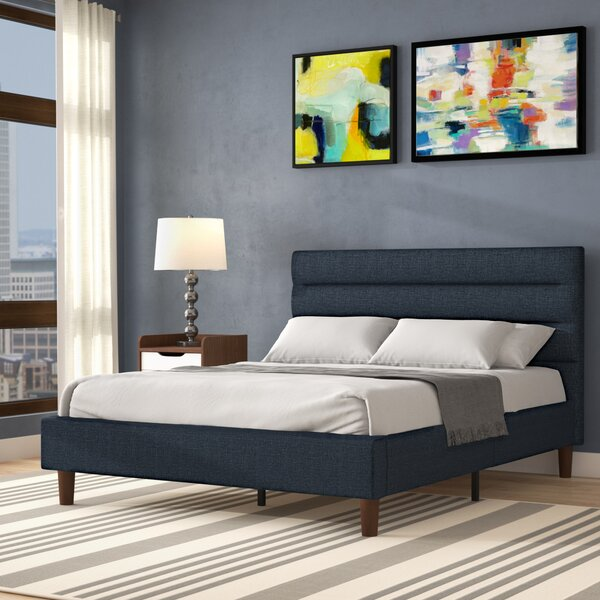 Barrios Upholstered Platform Bed by Trule Trule
