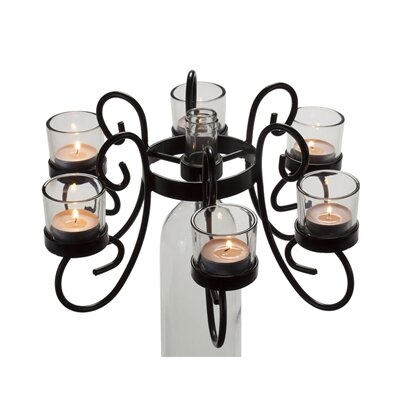 Afterglow Reserva Metal Candelabra by Oenophilia
