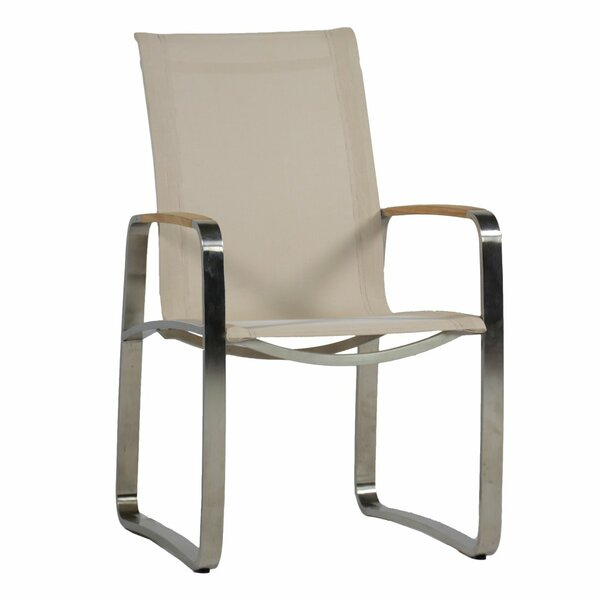 Delray Teak Patio Dining Chair by Summer Classics