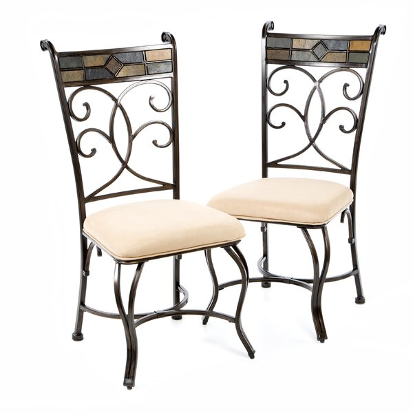 Zamudio Upholstered Dining Chair (Set of 2) by World Menagerie