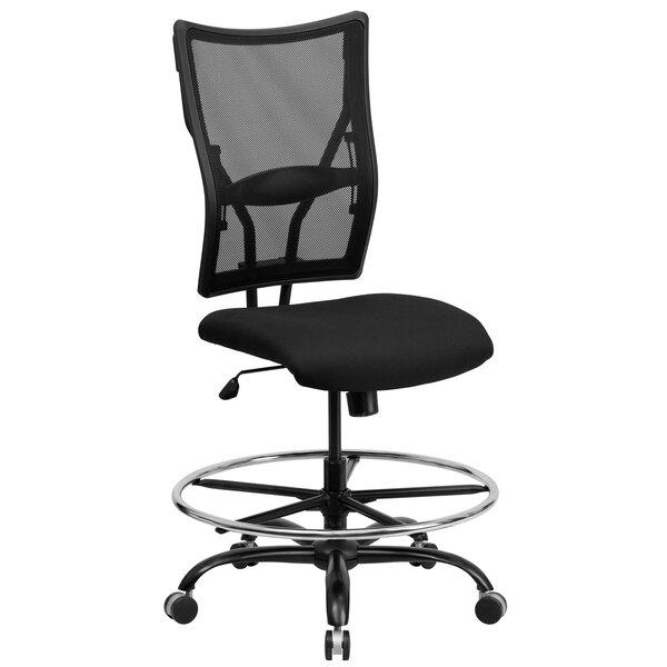 Laduke Mesh Drafting Chair by Symple Stuff