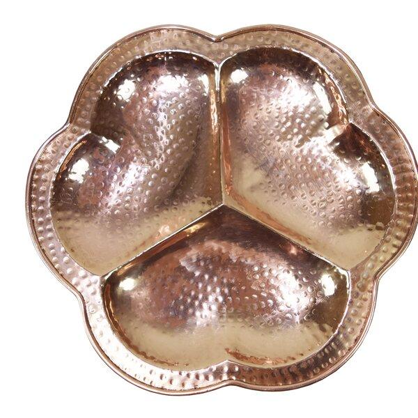 Mcentire Hand Hammered Platter by Ivy Bronx