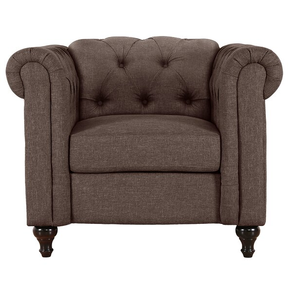 Jemima Chesterfield Chair by Alcott Hill
