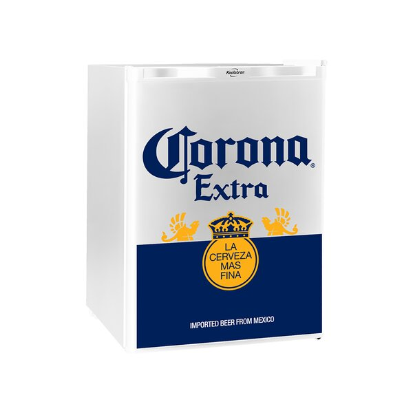Corona 2.4 cu. ft. Compact Refrigerator with Freezer by Koolatron