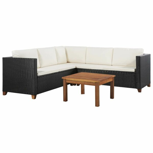Wellingborough Garden 4 Piece Sectional Seating Group With Cushions By Ivy Bronx by Ivy Bronx 2020 Coupon