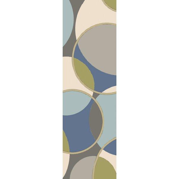 Deveau Hand-Tufted Area Rug by Ebern Designs