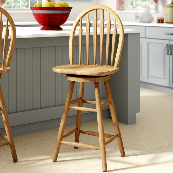 30 Swivel Bar Stool by August Grove