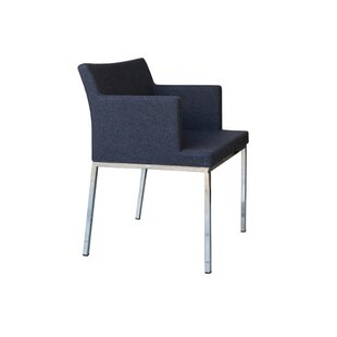 Review Soho Metal Base Wool Guest Chair by B&T Design