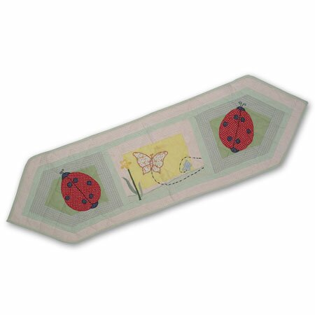 Ladybug Table Runner by Patch Magic
