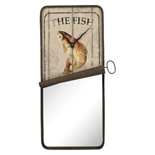 Great Price Helfrich Sardine Can Accent Mirror By Loon Peak