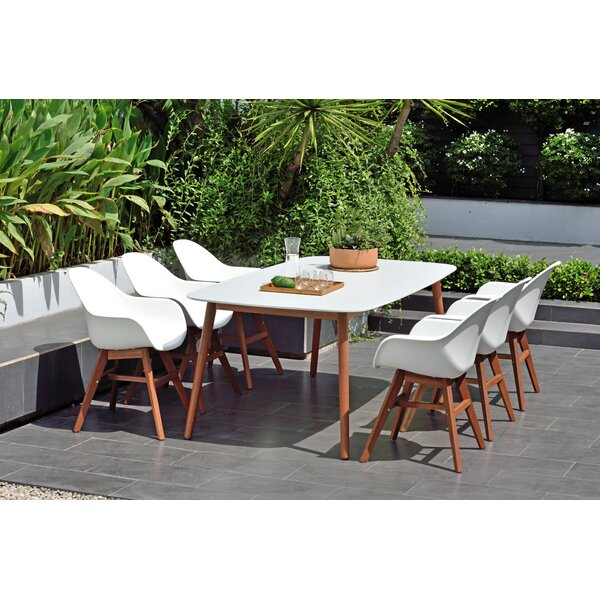 Alshain 7 Piece Dining Set by Mercury Row