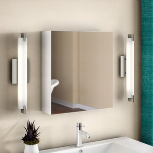 Read Reviews Knott 19.63 x 21.63 Surface Mount Frameless Medicine Cabinet By Zipcode Design