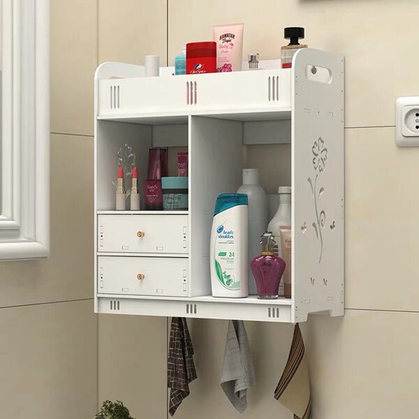 Stouchsburg 14.96'' W x 16.93'' H x 7.09'' D Wall Mounted Bathroom Cabinet