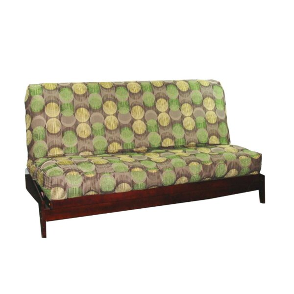 Thompkins Heavy Texture Box Cushion Futon Slipcover by August Grove
