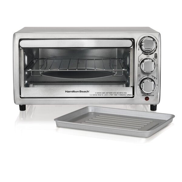 0.13 Cu. Ft. Toaster Oven by Hamilton Beach