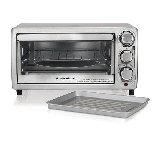 0.13 Cu. Ft. Toaster Oven by Hamilton Beach