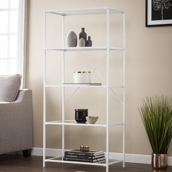 Orenstein 5-Tier Etagere Bookcase by Ebern Designs