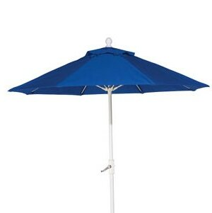 Fiberglass Market Umbrella by Woodard