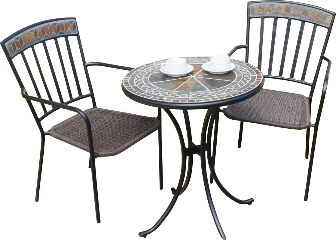 europa leisure 3 tlg bistro set clandon bewertungen. Black Bedroom Furniture Sets. Home Design Ideas