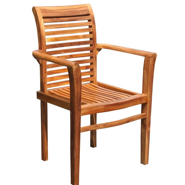 Rio Stacking Teak Patio Dining Chair By Chic Teak