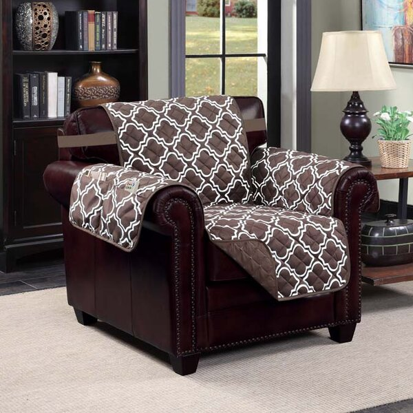 Macy T-Cushion Armchair Slipcover by Kashi Home