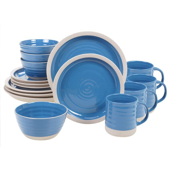 Aerne 16 Piece Dinnerware Set, Service for 4 by Mint Pantry