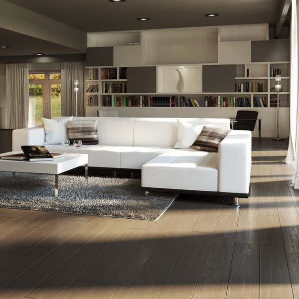 Popular Sectional Leather Right Hand Facing by UrbanMod by UrbanMod