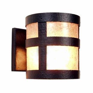 Portland 1-Light Outdoor Sconce By Steel Partners Outdoor Lighting