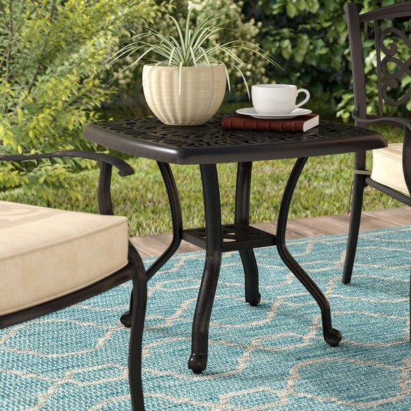 Kristy Metal Side Table by Darby Home Co