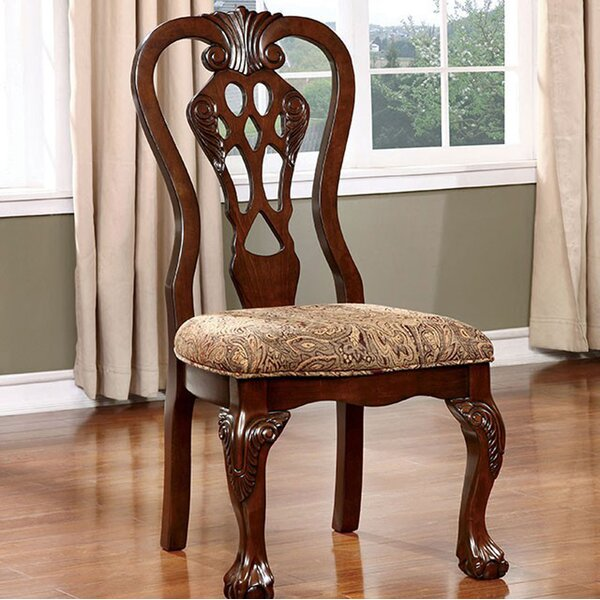 Bartelso Solid Wood Side Chair (Set of 2) by Astoria Grand